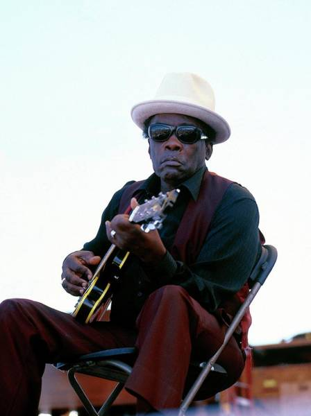 Photograph - Photo Of John Lee Hooker by David Redfern