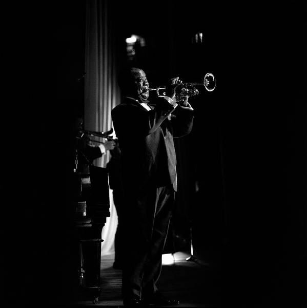 Photograph - Photo Of Louis Armstrong by David Redfern