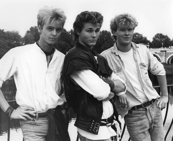 Wall Art - Photograph - Photo Of Morten Harket And A-ha And Pal by Erica Echenberg