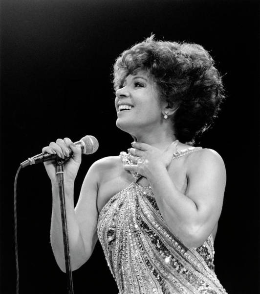Photograph - Photo Of Shirley Bassey by David Redfern