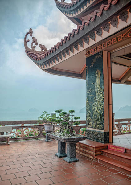 Photograph - Cai Bay Padoga by Gouzel -