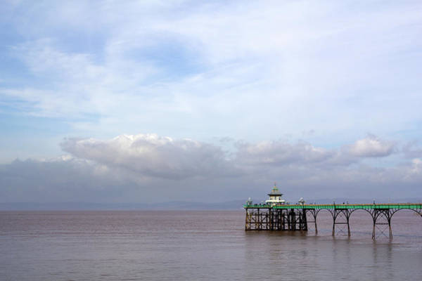 Somerset County Photograph - Picturesque Somerset - Clevedon Pier by Seeables Visual Arts