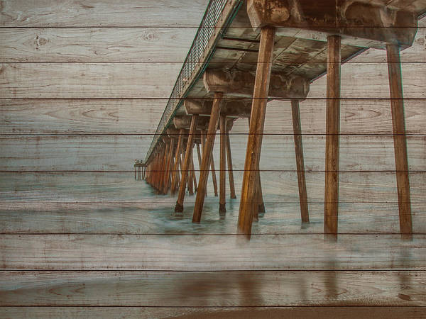 Wall Art - Photograph - Pier On Wood I by Bill Carson Photography