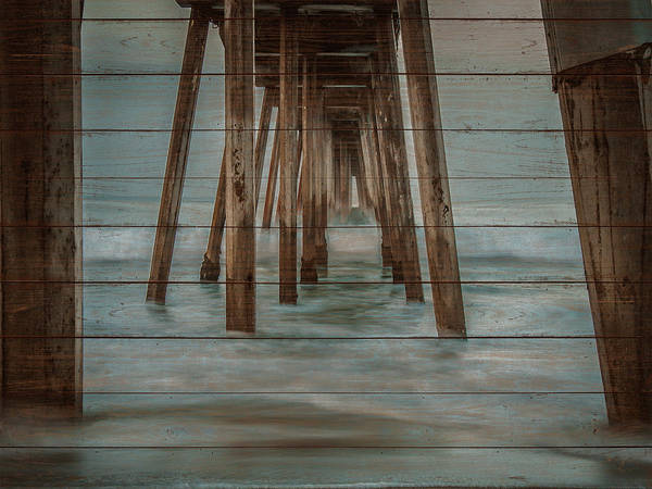 Wall Art - Photograph - Pier On Wood II by Bill Carson Photography