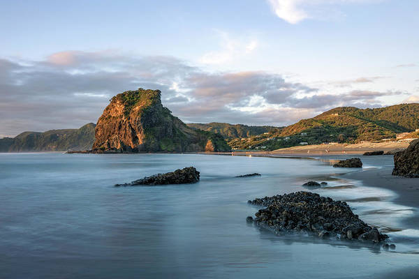 Tasman Sea Photograph - Piha Beach - New Zealand by Joana Kruse