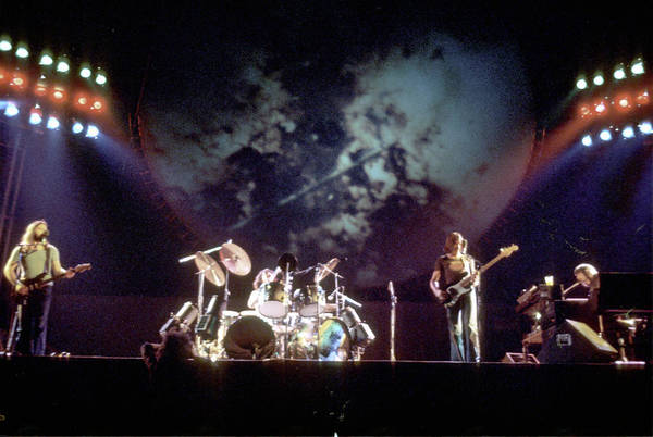 Rock Music Photograph - Pink Floyd Live In La by Michael Ochs Archives