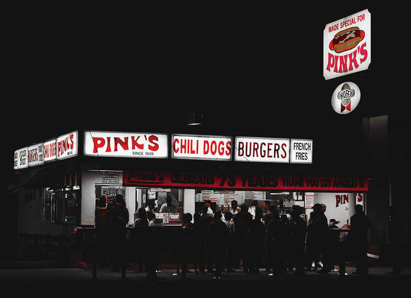 Wall Art - Photograph - Pink's Hot Dogs Of Hollywood by Mountain Dreams