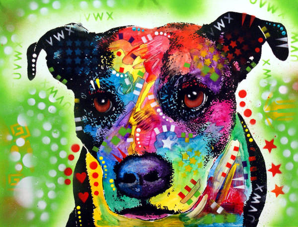 Wall Art - Painting - Pit  by Dean Russo Art