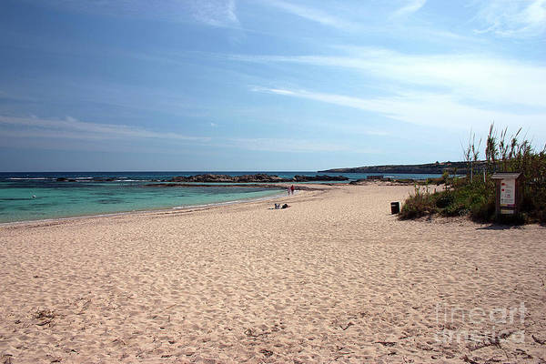 Wall Art - Photograph - Playa De Illetas, Formentera by John Edwards