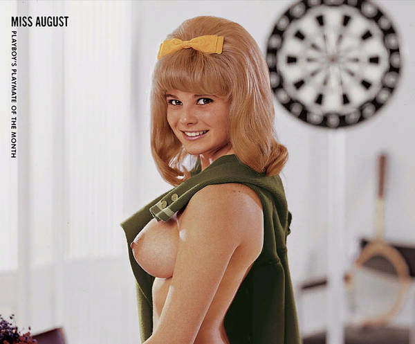 Playboy, Miss August 1967 Art Print
