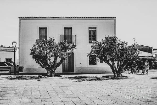 Wall Art - Photograph - Plaza De La Constitucion, Formentera by John Edwards