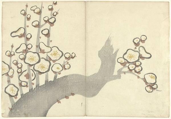 Wall Art - Painting - Plum Blossom, Nakamura Hchchu, 1826 by Nakamura Hchchu
