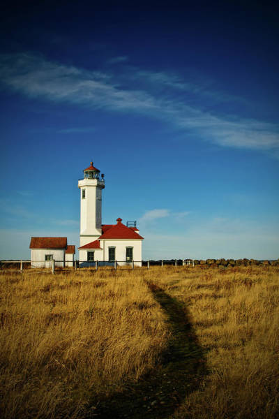 Port Townsend Photograph - Point Wilson Lighthouse by Dan Mihai