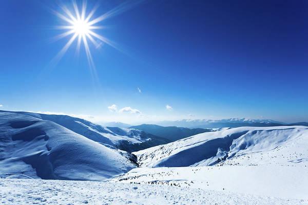 Residential Area Photograph - Polar Sunshine by Yourapechkin