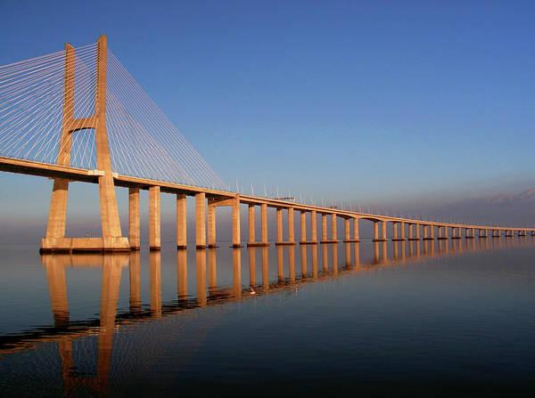 Vasco Da Gama Bridge Wall Art - Photograph - Ponte Vasco Da Gama by Rolhas ~ Pedro Damásio