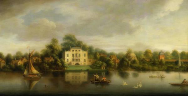 Wall Art - Painting - Pope's Villa, Twickenham by Joseph Nickolls