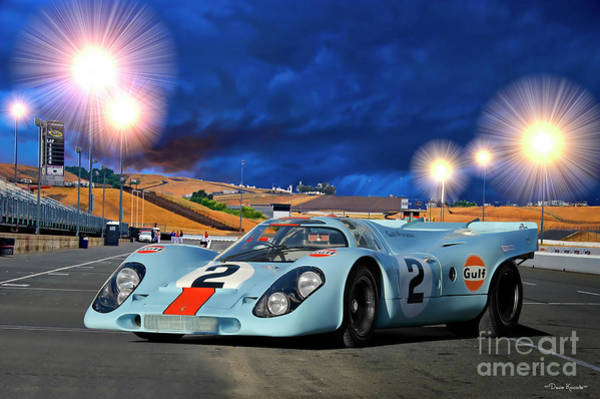 Wall Art - Photograph - Porsche 911 917k Can Am Racer by Dave Koontz
