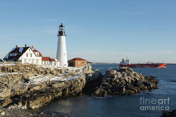 Photograph - Portland Head Light - Cape Elizabeth, Maine by Erin Paul Donovan