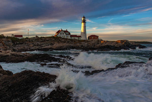 Photograph - Portland Headlight by Rick Hartigan