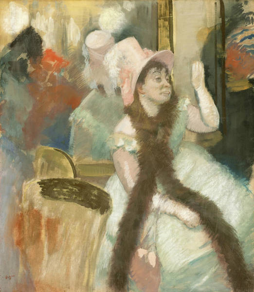 Painting - Portrait After A Costume Ball by Edgar Degas