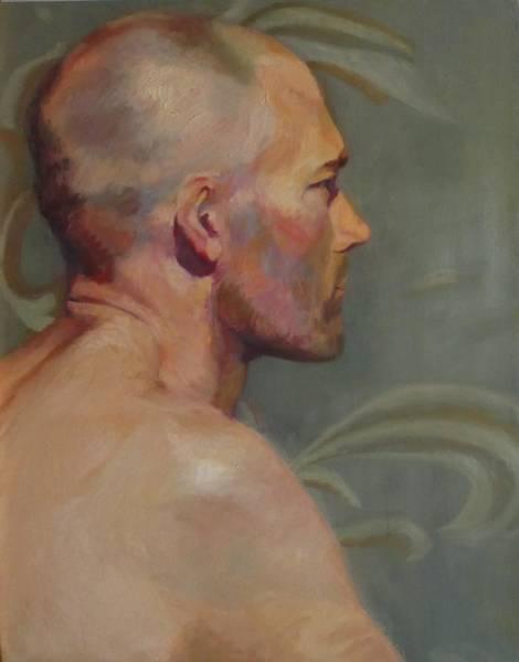 Painting - Portrait Of A Man by Irena Jablonski