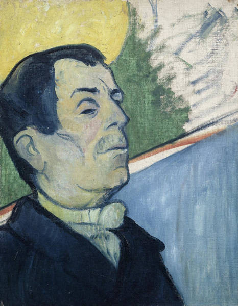 Wall Art - Painting - Portrait Of A Man by Paul Gauguin