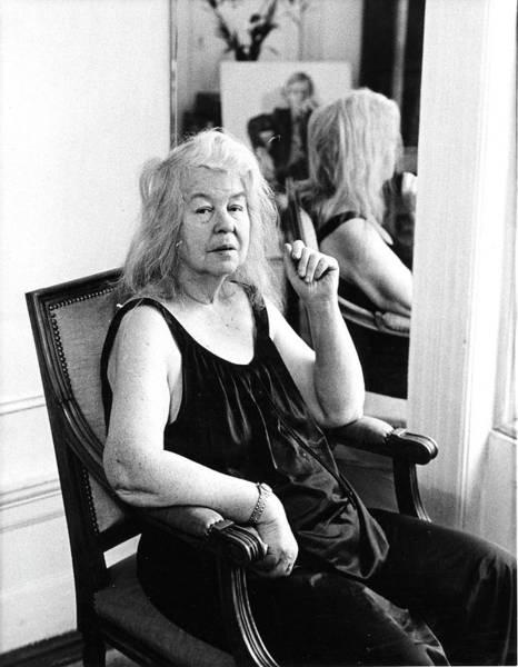 Photograph - Portrait Of Alice Neel by Fred W. McDarrah