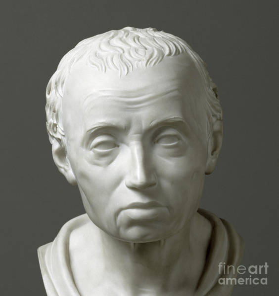 Wall Art - Sculpture - Portrait Of Emmanuel Kant  by Friedrich Hagemann