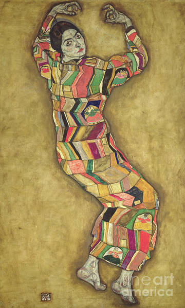 Wall Art - Painting - Portrait Of Friederike Maria Beer, 1914 by Egon Schiele