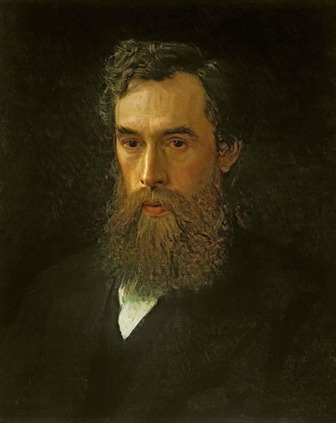 Painting -  Portrait Of Pavel Tretyakov by Ivan Kramskoy