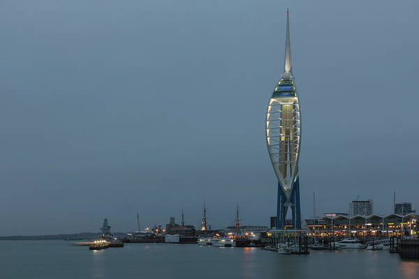Spinnaker Photograph - Portsmouth - England by Joana Kruse