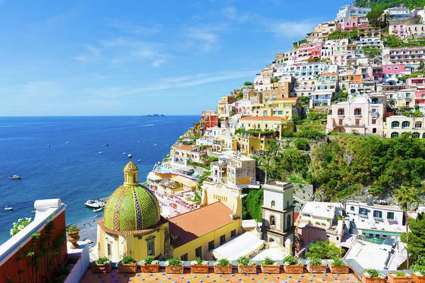 Photograph - Positano, Amalfi Coast by Francesco Riccardo Iacomino