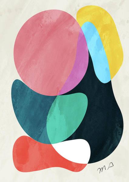 Wall Art - Pyrography - Positive Colors 6 by Mark Ashkenazi