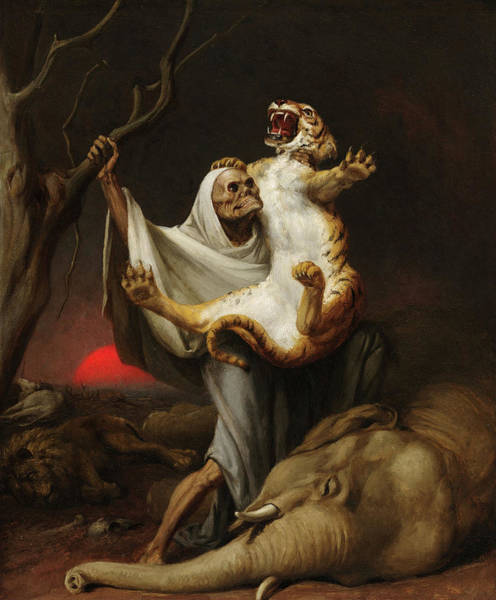Wall Art - Painting - Power Of Death by William Holbrook Beard