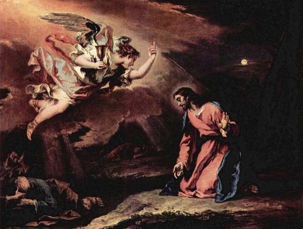 Painting - Prayer Of Christ On The Mount Of Olives  by Sebastiano Ricci