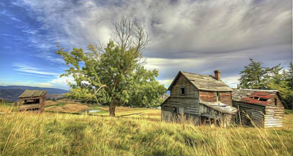 Photograph - Predator Ridge Homestead by Darrel Giesbrecht
