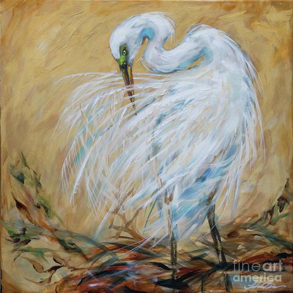 Painting - Preening by Linda Olsen