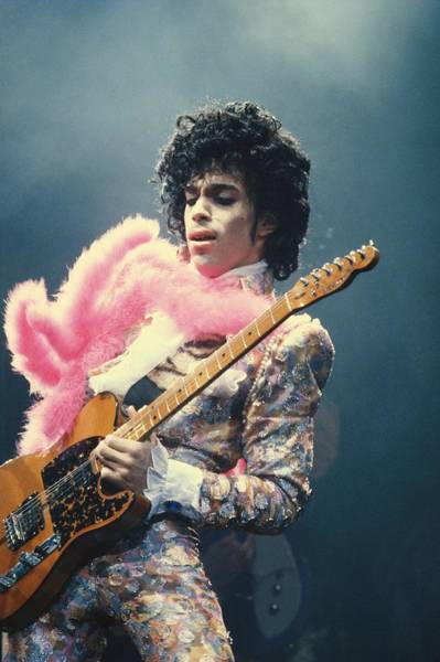 Wall Art - Photograph - Prince Live At The Forum by Michael Ochs Archives