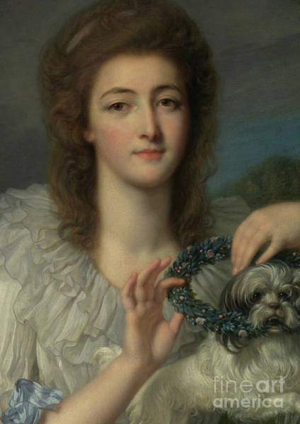 Wall Art - Painting - Princess Varvara Nikolaevna Gagarina by Jean Baptiste Greuze