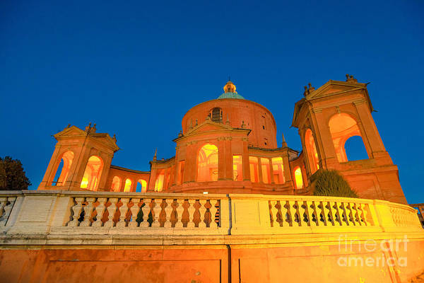 Photograph - Pronaos Of San Luca Evening by Benny Marty