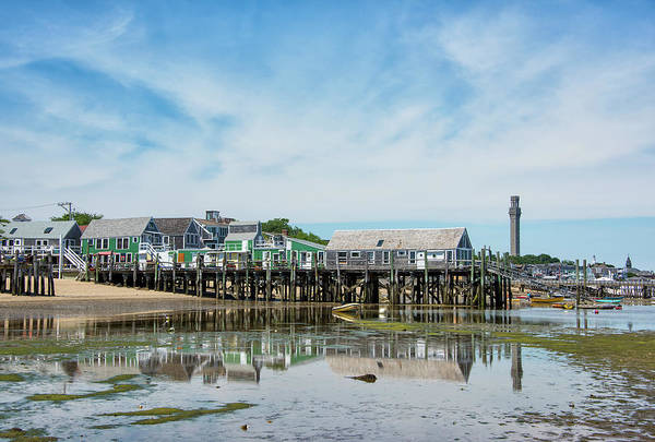 Provincetown Ma Wall Art - Photograph - Provincetown Harbor - Massachusetts by Brendan Reals