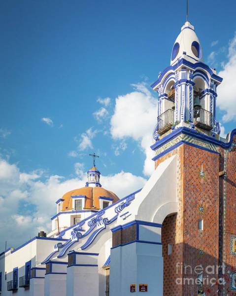 Photograph - Puebla Templo by Inge Johnsson