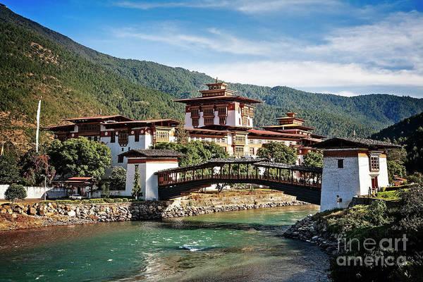 Photograph - Punakha Dzong by Scott Kemper