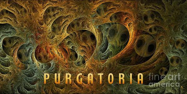 Digital Art - Purgatoria-3 by Doug Morgan