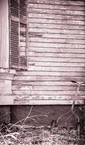 Photograph - Push Mower by Alana Ranney