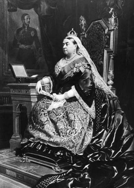 Queen Photograph - Queen Victoria by Hulton Archive