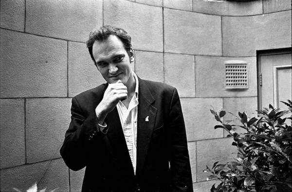 Photograph - Quentin Tarantino London 1994 by Martyn Goodacre