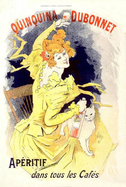 Painting - Quinquina Dubonnet Aperitif Vintage French Advertising  by Vintage French Advertising