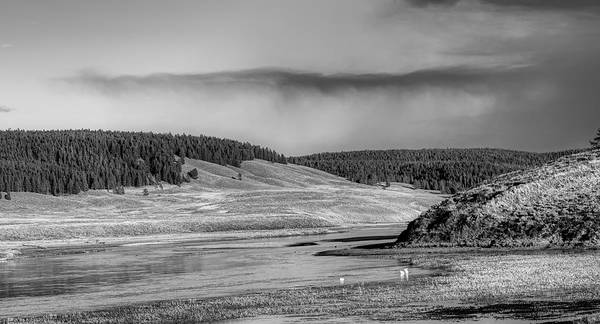 Wall Art - Photograph - Rain Moving Over Yellowstone by Mountain Dreams