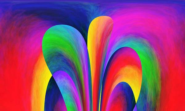 Wall Art - Painting - Rainbow Color by ArtMarketJapan